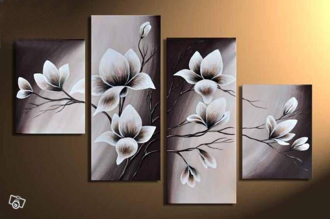 Модульные картины цветы фото