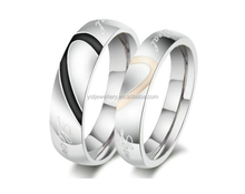 Fashion superman Stainless Steel wedding ring meaningful rings