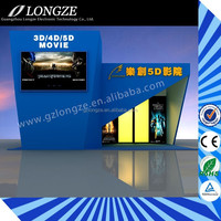 Well After-Sale Service Hydraulic/Electronic 3D/5D/6D/8D 4D Cinema Systems