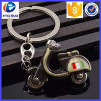 Hot Product 3D key ring Retro Motorcycle Scooter Key Ring