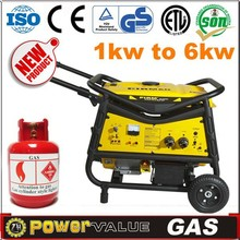 Power Value Gas Series Home Gas Generator,Power Natural Gas Gnerator,Silent Nature Gas Generator