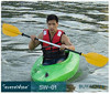 leisure rotomold plastic catamaran canoe kayak