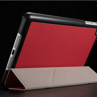 China Wholesale Promotional Cheap Price High Quality Different Stand Position Case PU Leather Back Cover for Ipad Mini