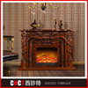 professional modern artificial electric fireplace