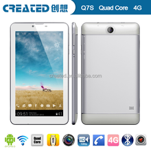 Cheap android5.0 4G lte 7 inch ips tablet pc/mid tablet pc quad core with high quality