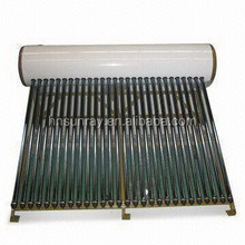 Hot Selling Low Price High Quality Compact pressured 200L Color Steel Solar Water Heater For Home With CE,ISO9001,CCC