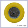 PU foam small rubber wheels