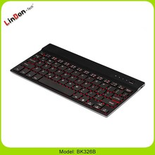 Universal Wireless Bluetooth Keyboard For IOS/Android/WindowsTablet Backlight laptop custom aluminum alloy keayboard