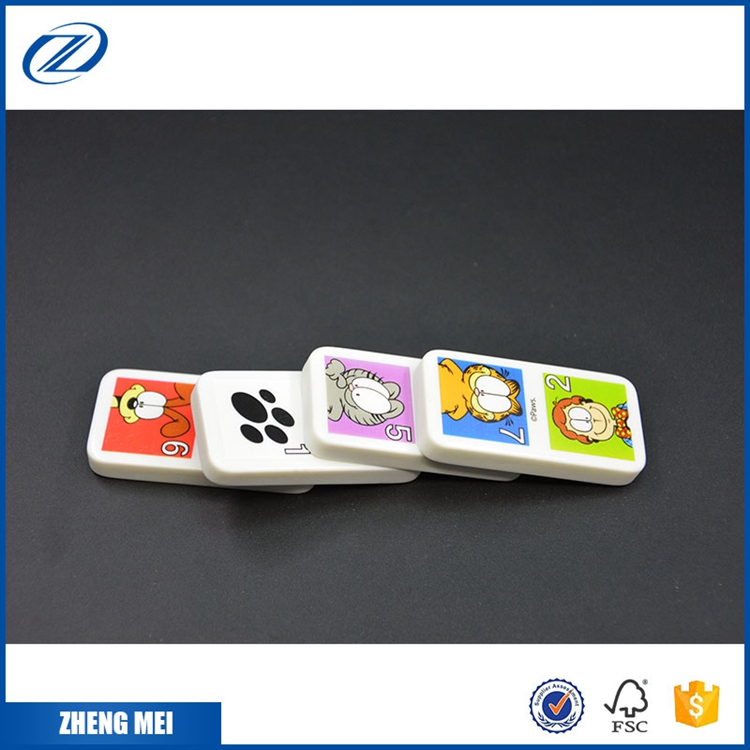 China großhandel kunststoff farbige domino rally