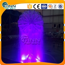 Factory price round ball water fountain/outdoor water fountain with horse