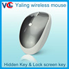 New high quality privacy security optical 2.4ghz wireless magic mouse