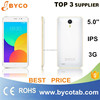High quality low price china 5.0 inch android 4.3 mobile phone