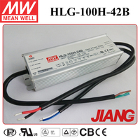 100W 42V 2.28A Waterproof Power Supply Meanwell HLG-100H-42B Triac Dimmable LED Driver