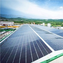 Hanergy 80kw inclined roof solar module kit solar panel price