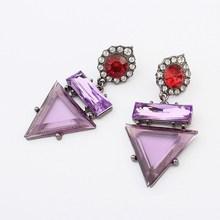 Donne orecchini disegni foto, buon falso orecchino vite prigioniera del diamante manafacture