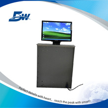 BW-LU19 Tabletop LCD Monitor Motorized Lift Mechanism/Computer Screen Lifting System For Office Room