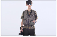 Super Big Size Photography Vest for Big man Outdoor Hunting Fishing Vest XXXXXL Size