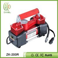 Double cylinders car air compressor pump electric air compressor