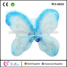 Espumoso traje de hada alas de mariposa seleccionar el color: de color púrpura