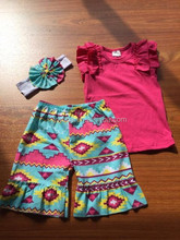 2015Hot Sale Summer Girls Outfit 2 Pieces Boutique Clothing Set For Child Clothes Set Baby Tank Top And Short Set Girls Outfit