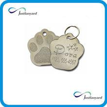 fashional custom free logo pet id tags