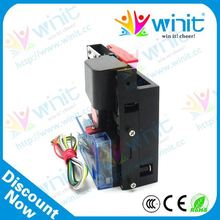 Cheap flower vending machine cpu electronic multi coin acceptor / coin selector / coin receiver spare parts