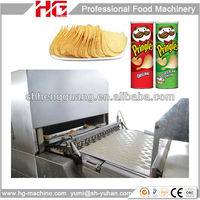 Cost saving potato chips plant machine