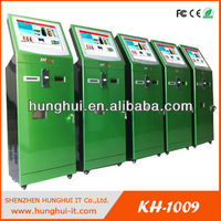 Automatic self service ordering payment kiosk machine/bill payment kiosk/Card Reader cash Payment Kiosk Terminal KH-1009