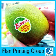 Cheap customized numbers on fruit labels