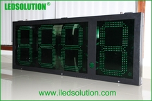 Gas Oil Station New Outdoor LED Digital Gas Price Display from LEDSOLUTION
