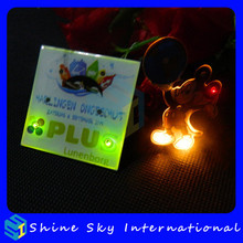 Factory Mould Light Up LED Pins For Rave Party/Promotion Gift