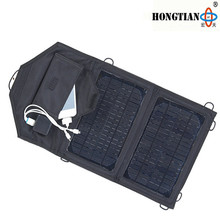 7w foldable 12v solar car battery charger