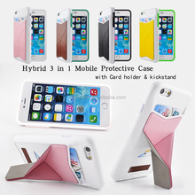 bulk phone cases cover for iphone 6 leather with stand cover