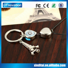 recorder and music keychain