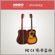 Inneo phoenix brand painted economic acoustic guitar