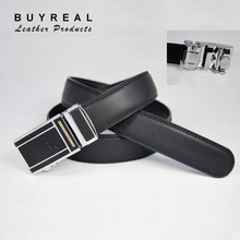 Men's Automatic Buckle Leather Belt OEM Factory Direct