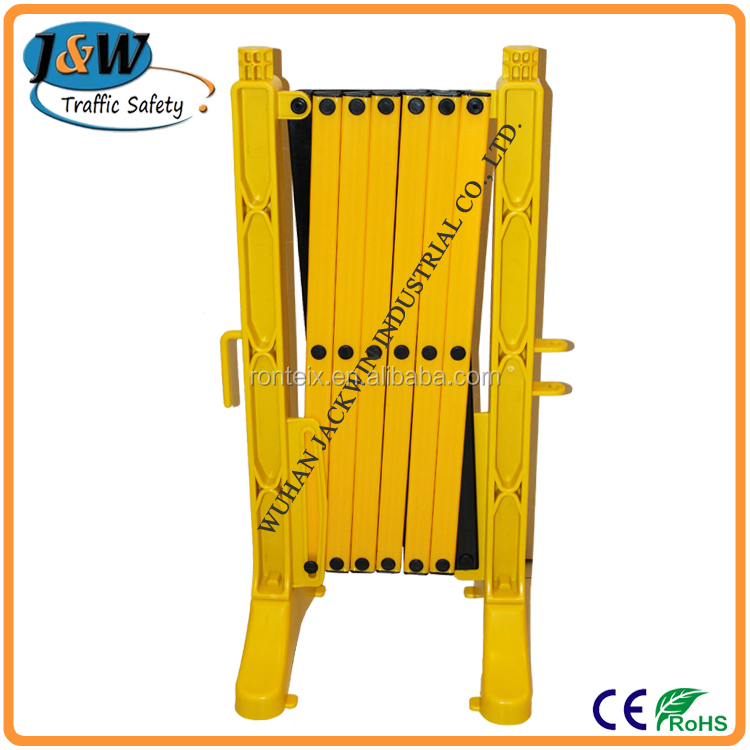 Yellow red aluminum expandable safety barrier buy