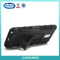 Heavy duty tpu&silicon material combo cover case for samsung galaxy note 3