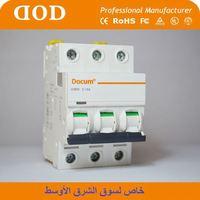 accesorios del interruptor dz47 circuit breaker c45 mini circuit breaker bh-20a-1p