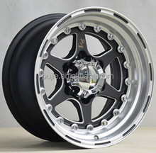 New design 16*8.5 inch car alloy wheel 6*139.7 ISO