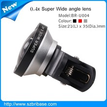 Wholesale Universal 0.4X Super Wide Angle Lens Clip for Samsung Phones 0.4X