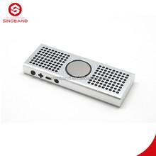 Innovative business ideas Sinoband S100 home theater vibration speaker dj bluetooth speaker slim subwoofer