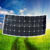 100W Thin Film Solar Module Price Semi Flexible Sunpower Pv Solar Panel