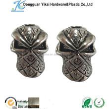Dongguan YiKai metal alloy skull ,metal Chrome skulls,silver skull ring