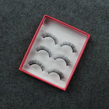 Hot selling own brand eyelashes wholesale false eyelashes red cherry eyelashes