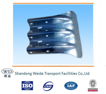 Galvanized Fishtail End -Guardrail end wing Accessories