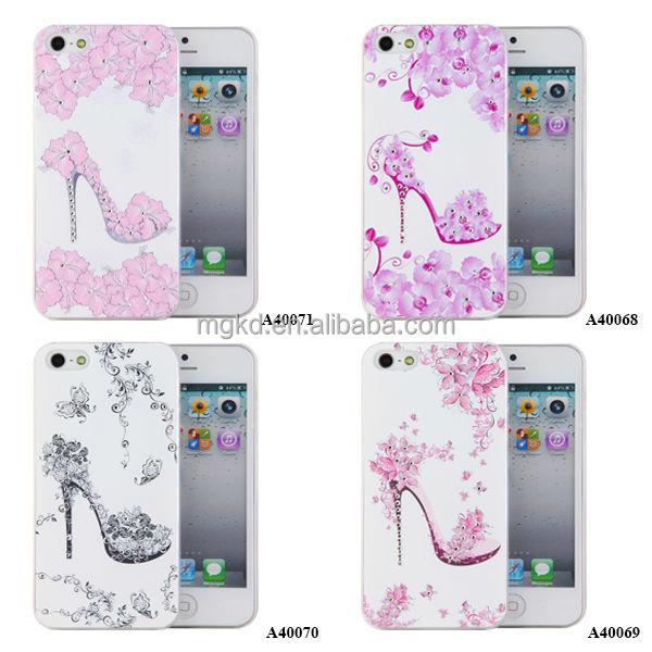 Most popular 3D Carving laser Diamante mobile phone case,Customize 3D design for iPhone case