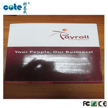 paper cover 4.3 inch lcd video greeting card, video brochure