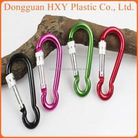 Hua Xing Yong Very Cheap Wholesale plastic Carabiner Clips For Key Cucurbit Shape
