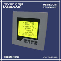 Free Sample Available Digital Panel Three Phase Digital Multimeter with RS-485 RH-3D6